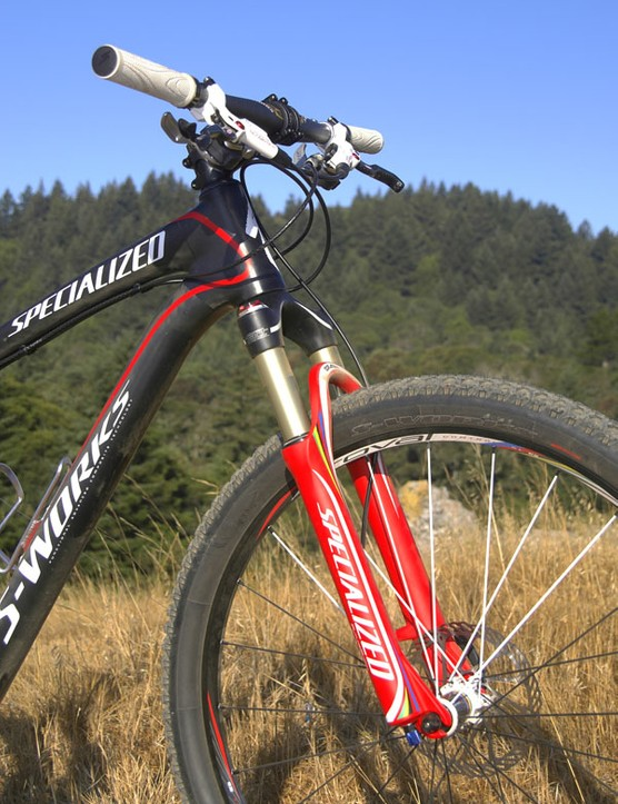 The new hardtail also gets the taper-end-oversized front end treatment.