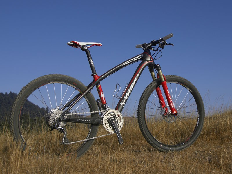 Pure racers have a new Specialized carbon hardtail to look into for 2009 that sheds about 100g from last year.