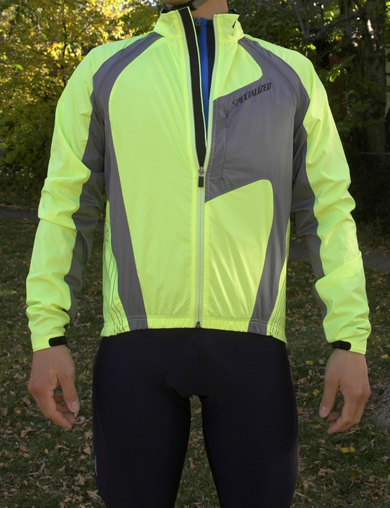 The Specialized Deflect Hybrid jacket	starts out life as a jacket…
