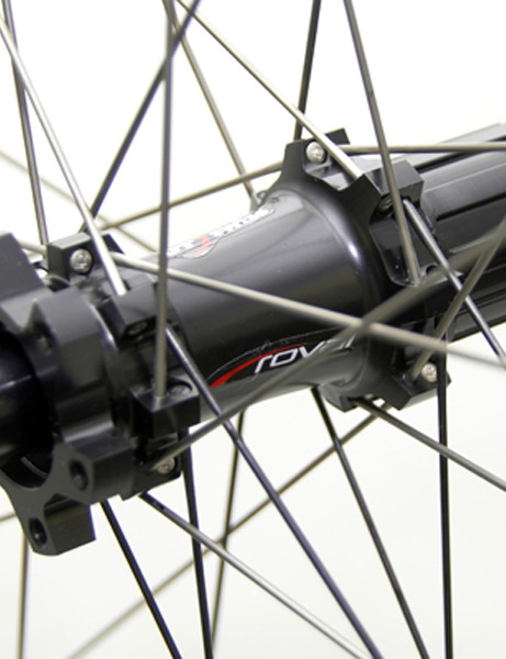 Hub internals are made by DT Swiss and include the aluminium freehub body and star ratchet driver.