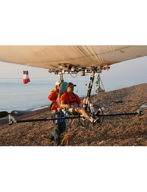 Rousson is an extreme sports enthusiast and qualified pilot.