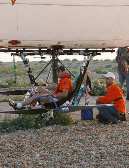 Adventurers have been trying to pedal-fly across the Channel for the last 100 years.