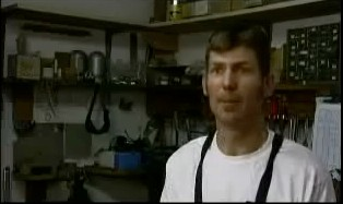 Sacramento framebuilder Steve Rex.