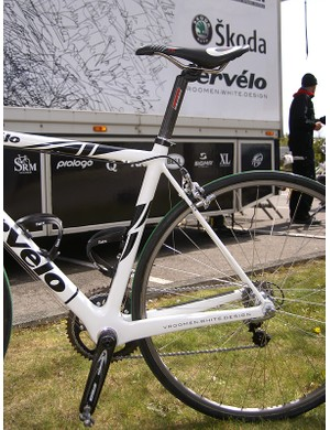 …are matched to slim seat stays for a solid feel under power but a comfortable ride over the bumps