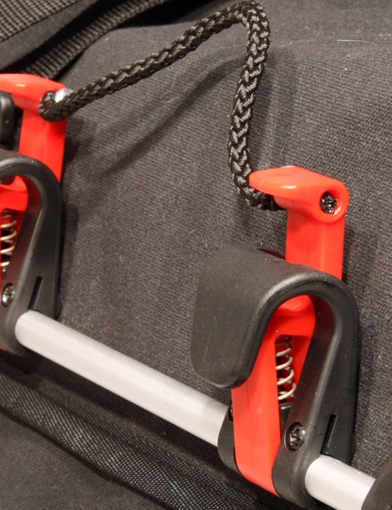 Klickfix hooks keep the new carradice Super c panniers in place