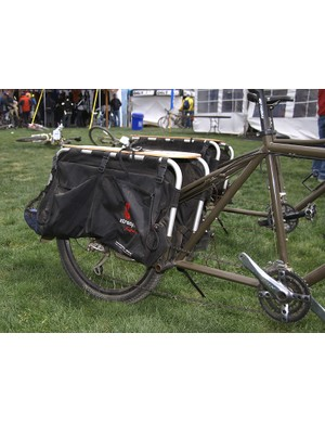 …with its integrated Xtracycle rear end.