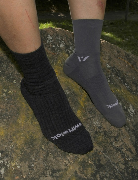 Swiftwick's Four Merino and Four Ole socksprovide cosy warmth or thin and lightweight wicking performance depending on your preferences.
