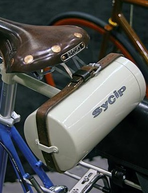 Subtle touches like this custom seat carrier set Sycip apart.