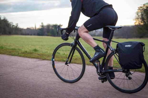 The Tailfin pannier rack system is 'lighter, faster, prettier' than existing rivals, say its makers