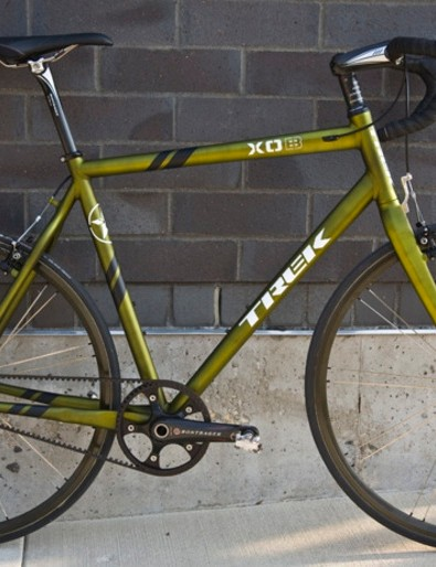 Travis Brown's prototype Trek belt-driven cyclo-cross bike.