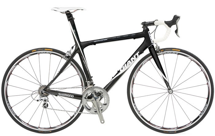 Giant TCR Advanced Team bike, worth US$6,000.