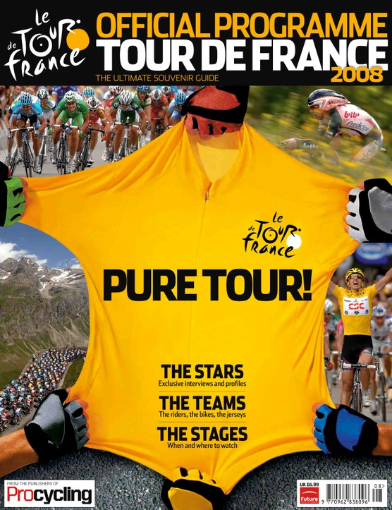 The 2008 Procycling Tour de France guide.