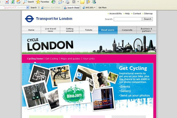 The new TFL pages feature a lot more than a snazzy redesign