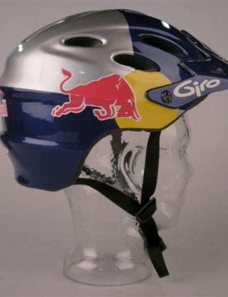 Tarek Rasouli's Red Bull helmet