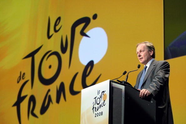Tour de France 2008 announcement last October.
