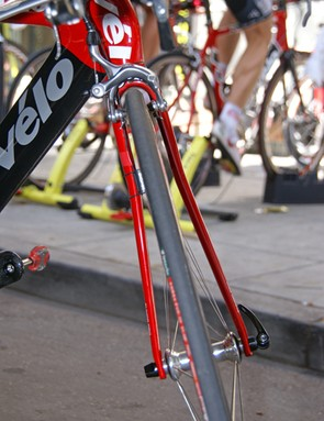 3T claims its Funda fork blades offer an aerodynamic advantage thanks to careful shaping.