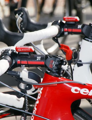 …but not on all of its bikes yet. Some riders need special sizes which 3T hasn't produced yet.