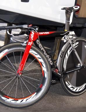 Team CSC will ride Cervélo P3C bikes again this season.
