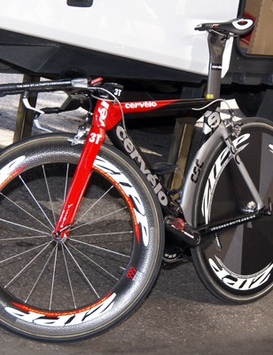 Team CSC will ride Cervélo P3C bikes again this season.