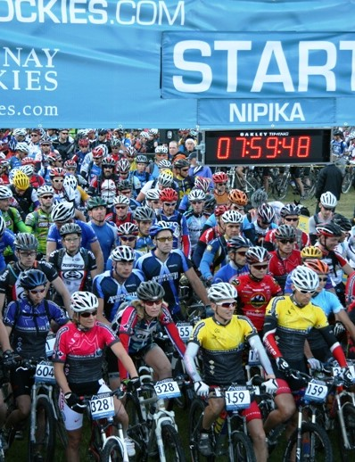 The start line in Nipika