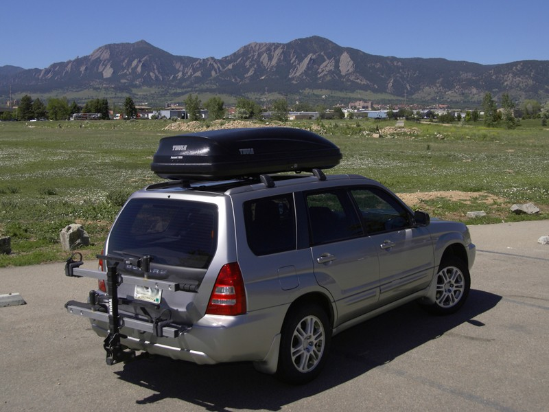 The Thule Ascent 1600 offers a convenient means of adding more storage capacity when the need arises.