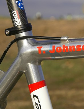 Double-pass welds make for a clean look and Cannondale says they also improve durability