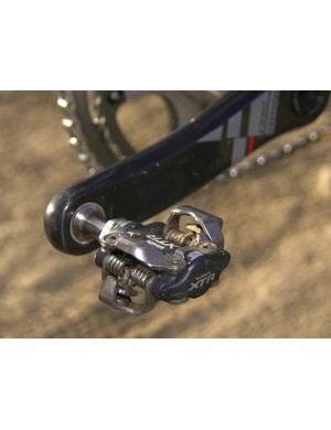 Shimano XTR pedals aren't the lightest around but among the most consistent and durable available
