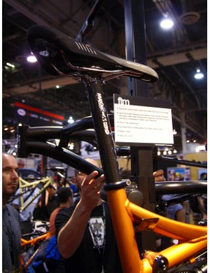 The FTM seat post and seat tube grow in diameter relative the Motolite, which will continue in the lineup as a lower-end model.
