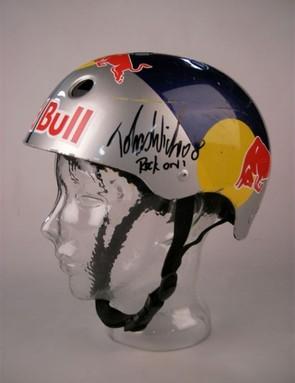 Tobi Wicke's Red Bull helmet