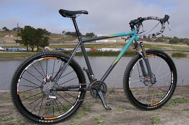 Remember Johnny T bombing the trails on drop bars? Check out this limited edition DB10.