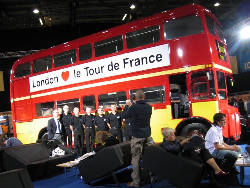 Now that's a proper Tour bus
