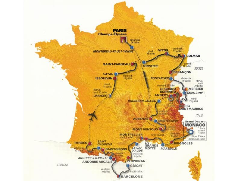 Tour de France '09 presentation highlights