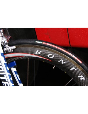 …while others were on clinchers.