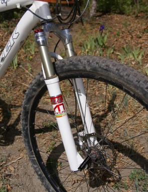 Brown runs a Manitou Minute 29er fork up front with just 80mm of travel.