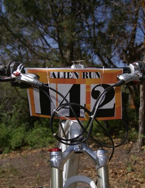 We caught up with Brown shortly after he competed in the 2008 Alien Run at Hart Canyon mountain bike race in Aztec, New Mexico.