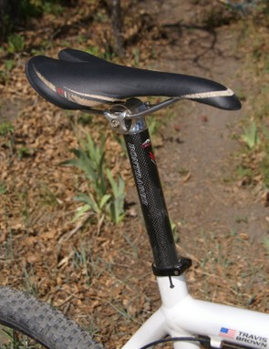More Bontrager gear can be found in the Race X Lite saddle and Race X Lite carbon seatpost.