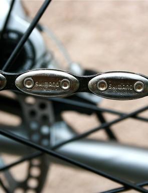 Groovy Shimano chain.