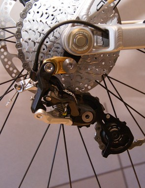 Trek Session 88 FR rear derailleur.