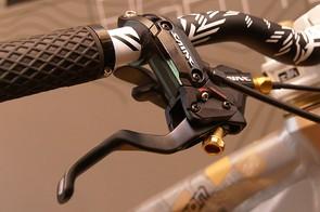 Trek Session 88 FR brake lever.