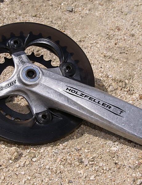 The well-received heavy-duty cranks from Truvativ get mostly cosmetic changes.