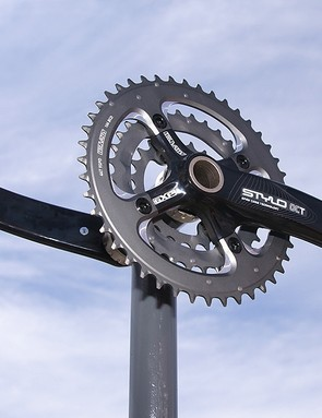 Truvativ has finally redesigned its workhorse Stylo crank with the lighter and stiffer Stylo OCT.