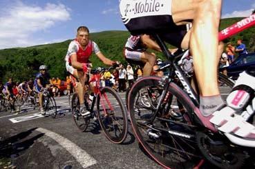 CYCLING : TOUR DE FRANCE 2004 ULLRICH Jan ( GER )STAGE ETAPE RIT 12 : CASTELSARRASIN - LA MONGIERONDE VAN FRANKRIJK