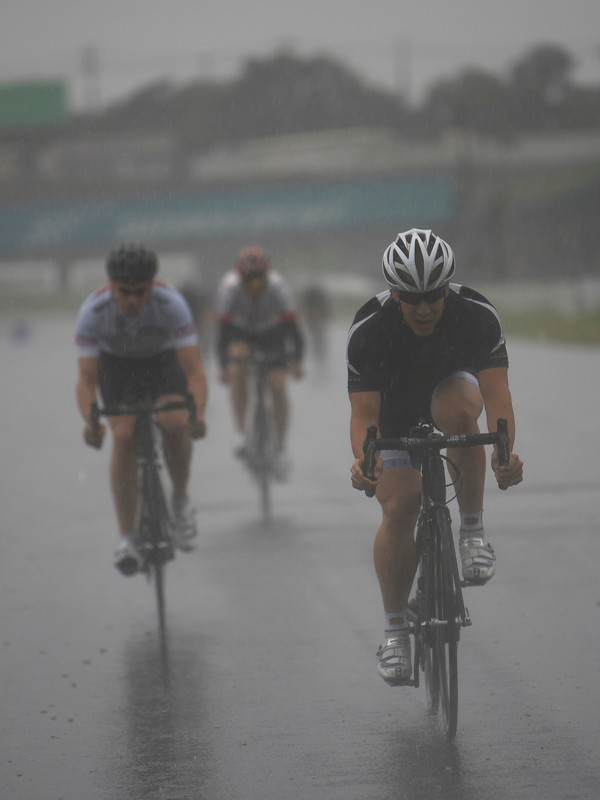 And yes, Di2 does seem to work in the wet.