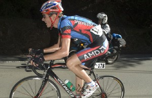 USA Cycling's Tejay Van Garderen in action over the weekend in Fleche du Sud.