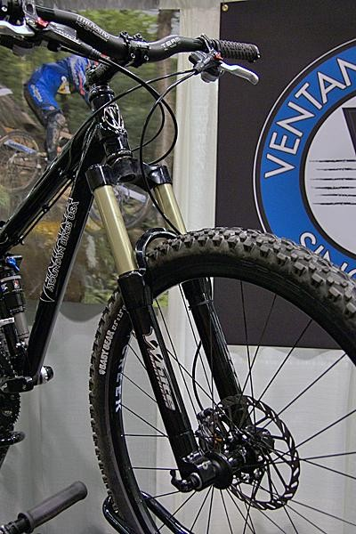 The modular design of White Brothers' forks easily lend themselves to quick adaptation for 650B.