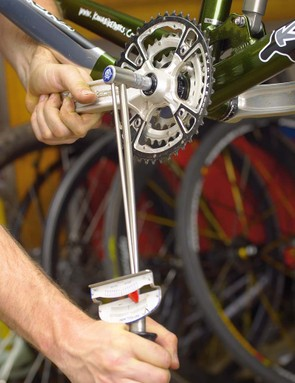 Ideally you should always use a torgue wrench to tighten crank bolts