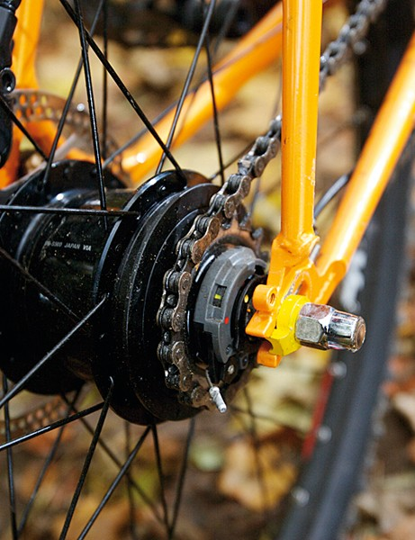 Shimano Alfine hub is a smooth operator