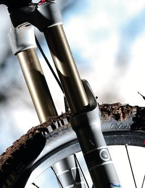 Adjustable-travel fork makes for a super-versatile rig