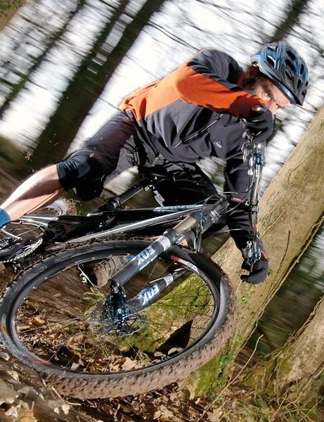 Great handling and superb suspension design encourage frantic antics