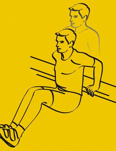 1. Triceps Dips